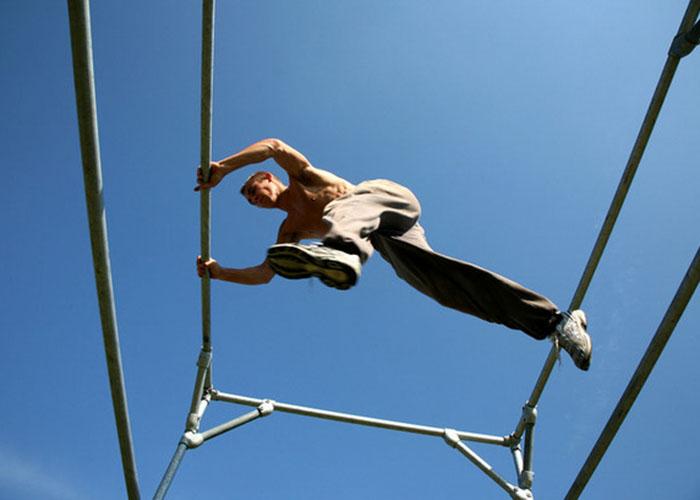 athletic training diy structure