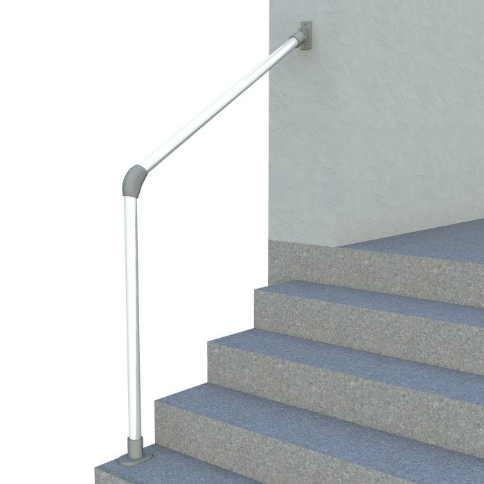 Sr 055c58 Terminated Wall To Floor Accessibility Stair