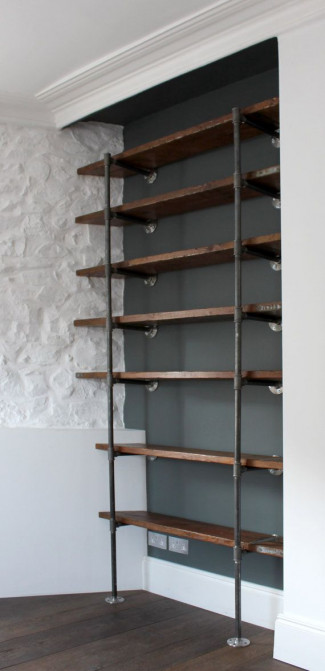 Alternative fittings shelving unit
