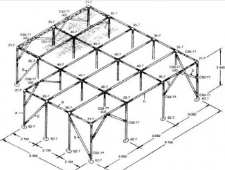 Easy To Build DIY Pavillion Frame