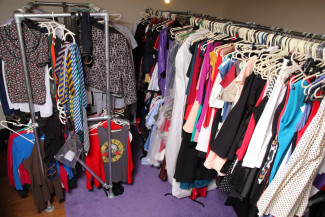 Clothing storage unit