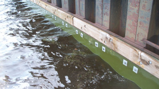 Underwater BoxBolt usage: Duluth seawall project