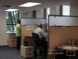 Office dividers for open plan spaces