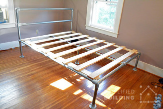 Build your own industrial bed: Step-by-step guide