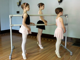 DIY ballet barre