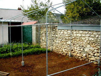 DIY easy to build greenhouse structure