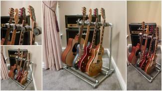 DIY Kee Klamp guitar stand