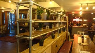 Industrial bar display