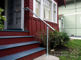 10 easy outdoor handrails you can build yourself