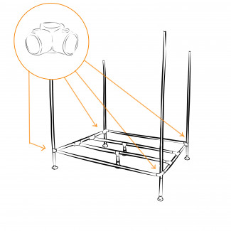 Build a Windsor canopy bed – we'll show you how