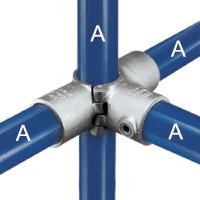 A35 - Split 3 Socket Cross