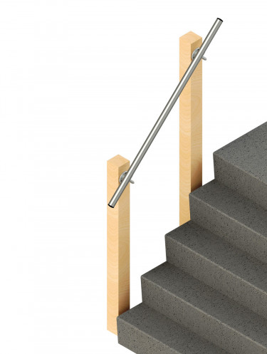 SR-570 - Wall Offset - Wall Mounted Handrail
