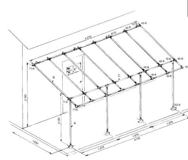 Diy Awning Frame Simplified Building