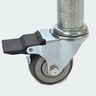 Braked Casters