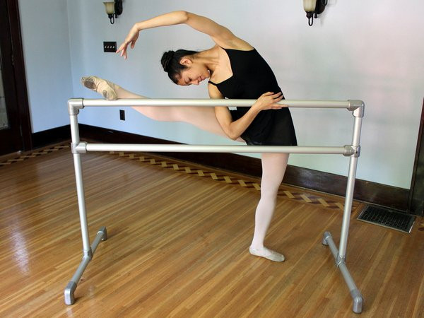 DIY Freestanding Ballet Barre Kit