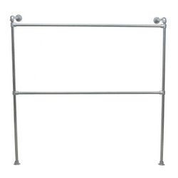 wall mounted clothing rail kit