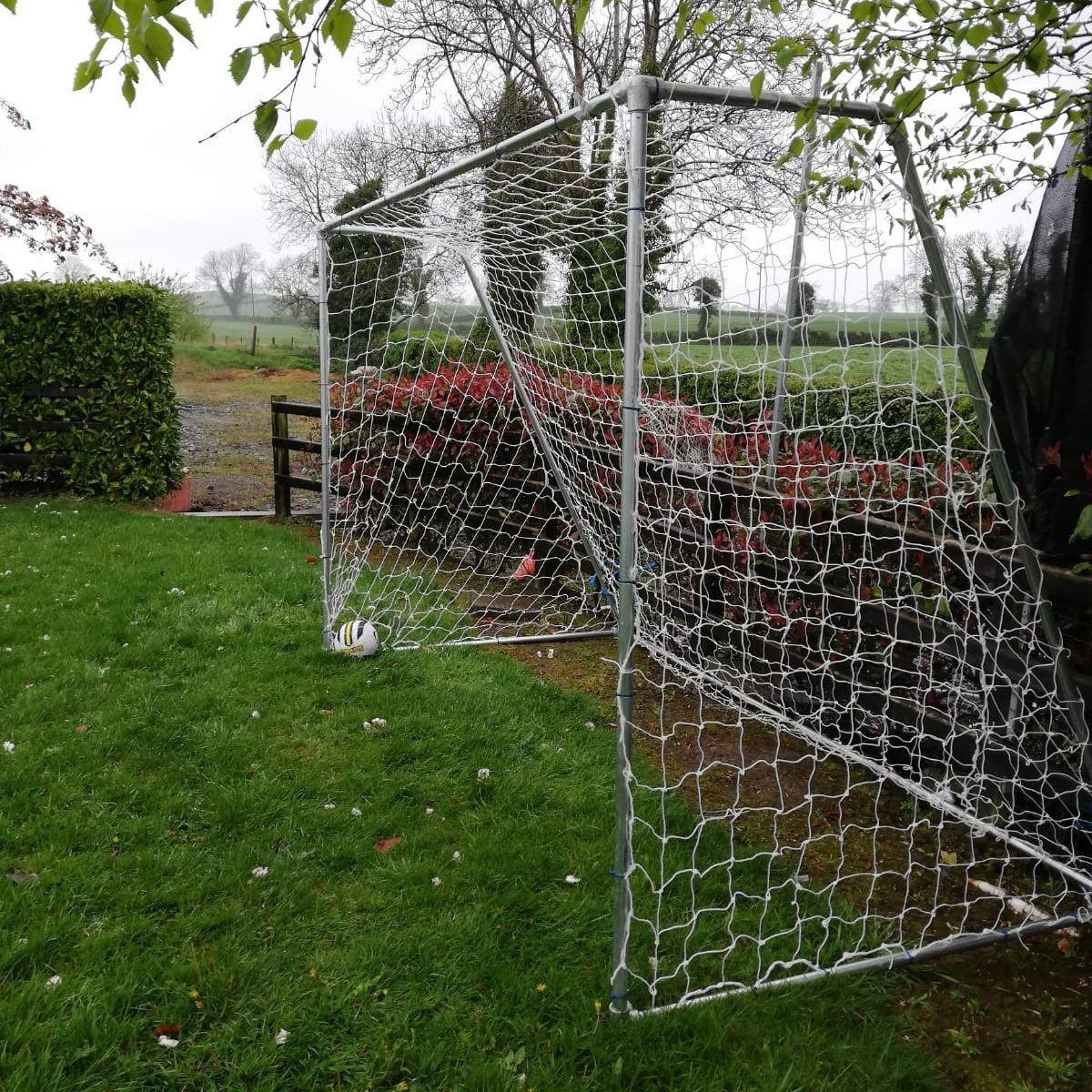 Heavy duty football goal frame (steel)