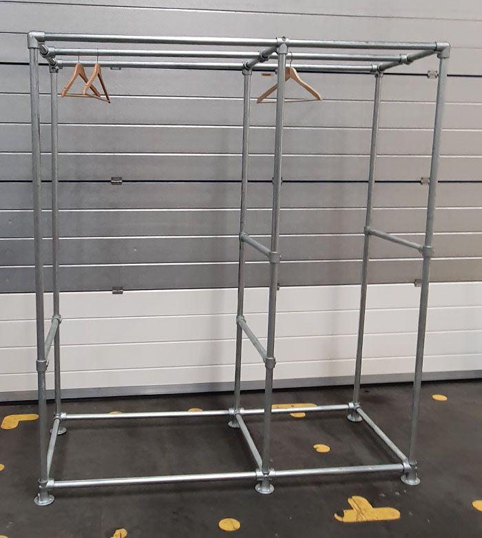heavy duty open wardrobe system