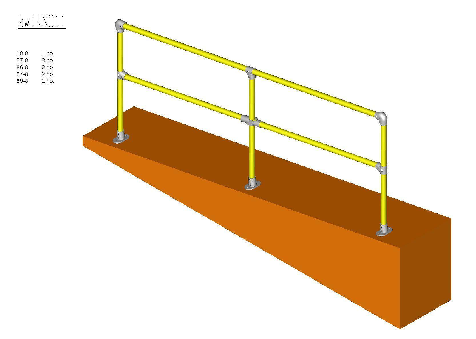 Kwik Kit Steel Ramp Kit 0 – 11 degrees