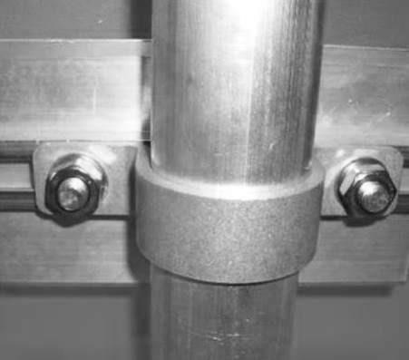 Straight Bracket for Tubular Upright