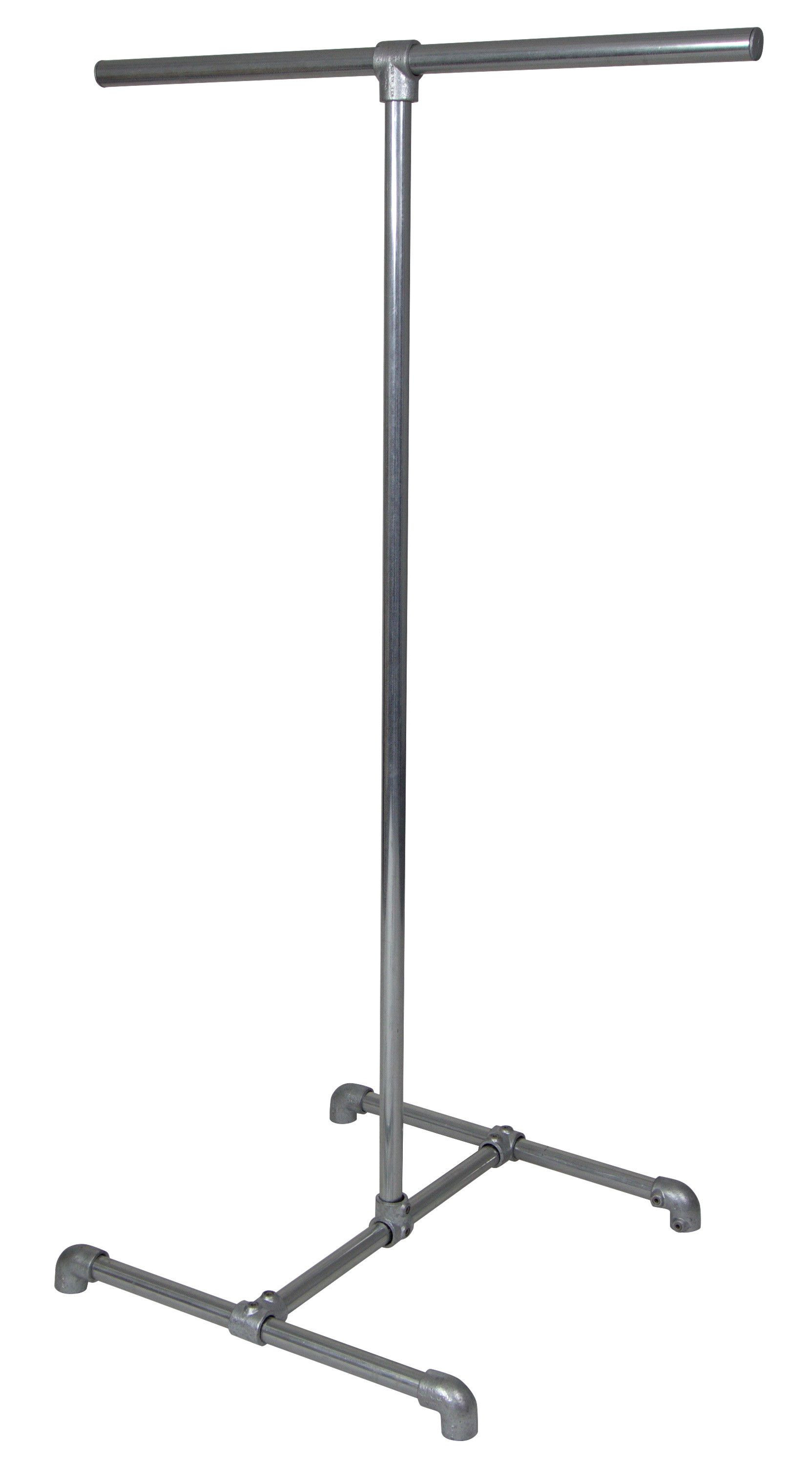 Two-way clothing rail (height 1.8m) - Suitable for clothing shops