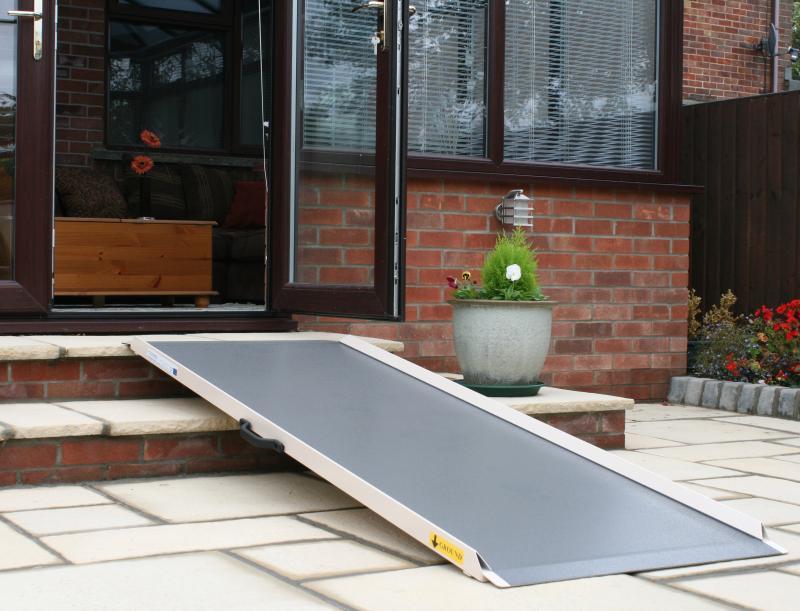 Flat Panel Wheelchair Ramp Simplified Building