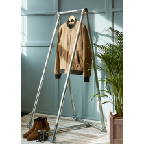 Freestanding A-frame clothing rail