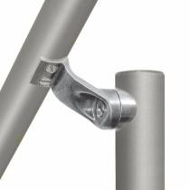 adjustable aluminium fitting for handrail