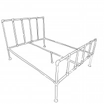 Small double - Camden bed frame
