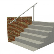SR-518570 floor to wall handrail, render