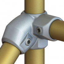 L321 -  Level to Sloping Down Side Outlet Tee (30° to 45°)