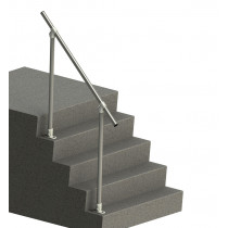 SR029 Topfixed Inline Fixed Stair Handrail, render 2