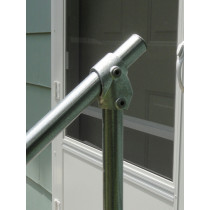 SR029 Topfixed Inline Fixed Stair Handrail, fitting photo