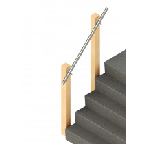 SR-570 Wall Mounted Handrail, render