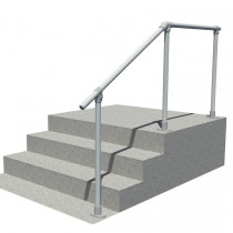 SRL29 steps to landing handrail, full render