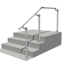 SRL518 steps to landing handrail