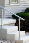 Adjustable angle handrail kit, photo