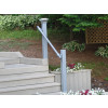 SR-070 Side Fixed Wall Mounted Stair Handrail, installation