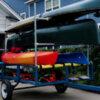 kayak canoe trailer storage unit