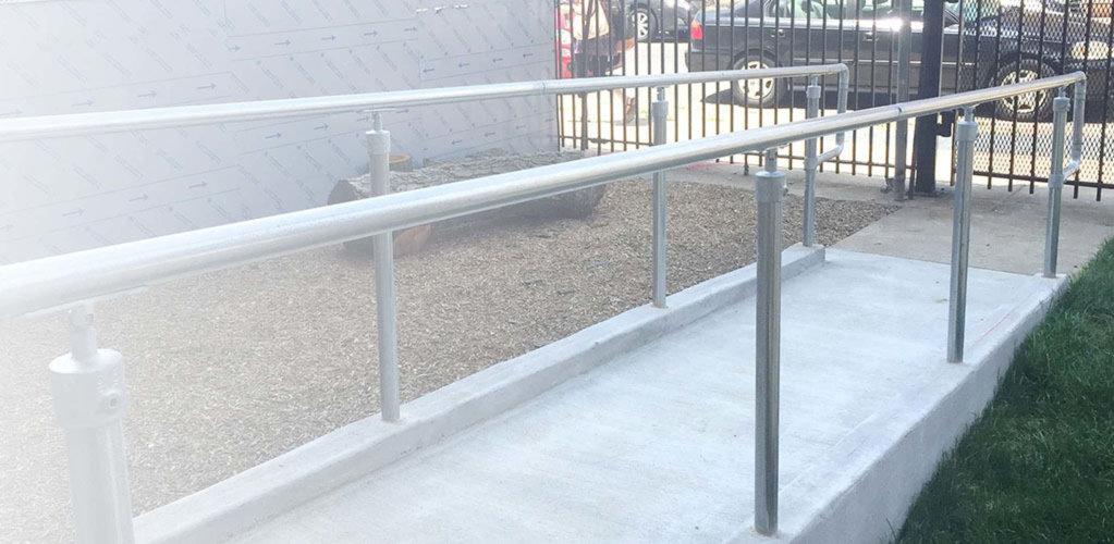 DDA Handrails: Top and bottom rail DDA instagram