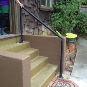 Stair Handrail Kits For Your Garden House Entrance And
