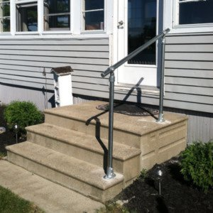Stair Handrail Kits - For your garden, house entrance and outdoor ...