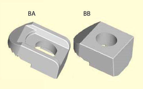 BeamClamp components type BA & BB