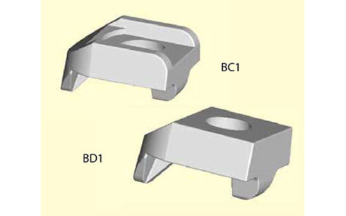 BeamClamp components type BC1 & BD1