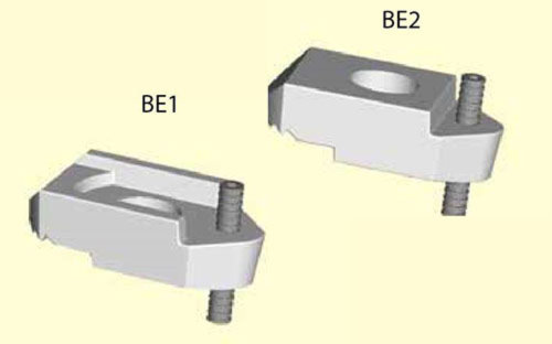 BeamClamp components type BE1 & BE2