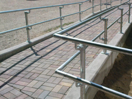 Key Clamp Handrail System Design Your Own Simplified