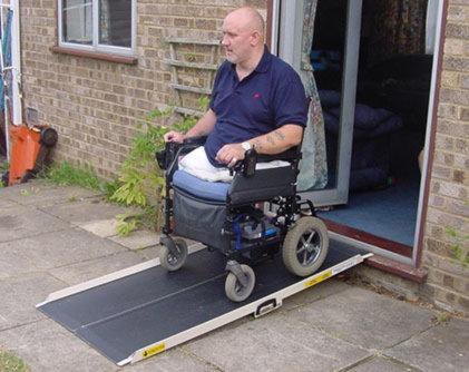 Lightweight portable ramps