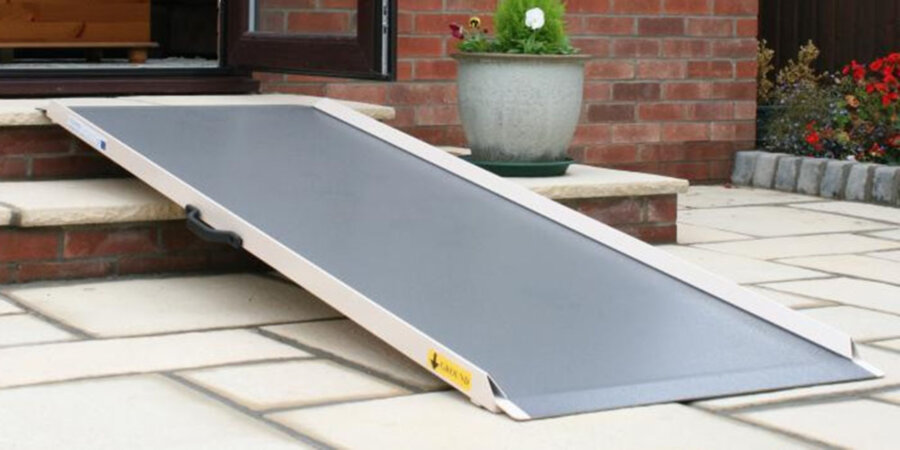 Aluminium wheelchair ramps