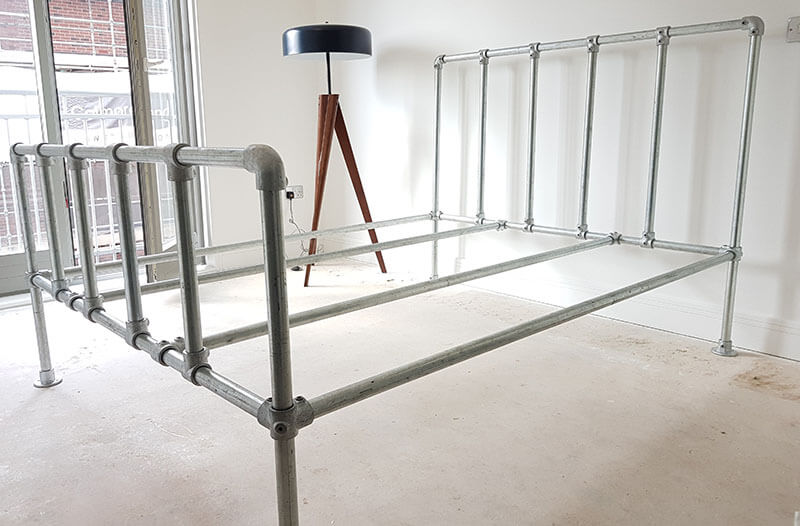heavy duty strong bed frame