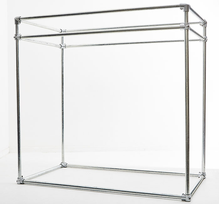 cubic clothing rail dimensions